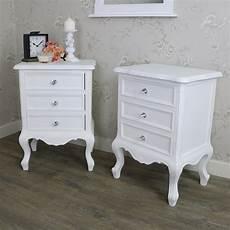 white 3 drawer bedsides elise white range melody maison 174