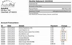 Billing Statement Understanding Your Billing Statement Autopal Help