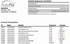 understanding your billing statement autopal help