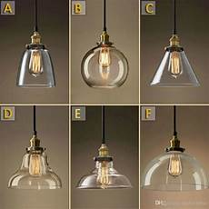 Hanging Led Lights Vintage Chandelier Diy Led Glass Pendant Light Pendant