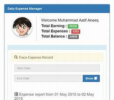 Monthly Expense Manager Daily Expense Manager Download Sourceforge Net