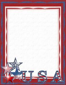 Patriotic Template Patriotic Stationery Themes Page 2
