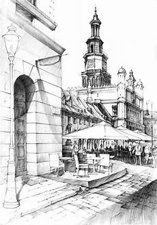 City Building Sketches Historical Buildings Pencil Drawing City Sketch City