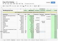 Wedding Costs Spreadsheet Wedding Spreadsheet Tracking Costs Blog Posts