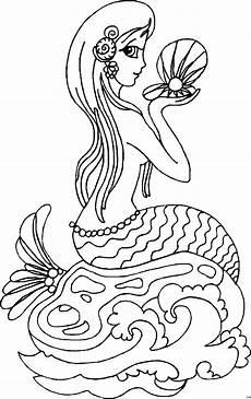 Ausmalbilder De Meerjungfrau Meerjungfrau Ausmalbild Malvorlage Comics
