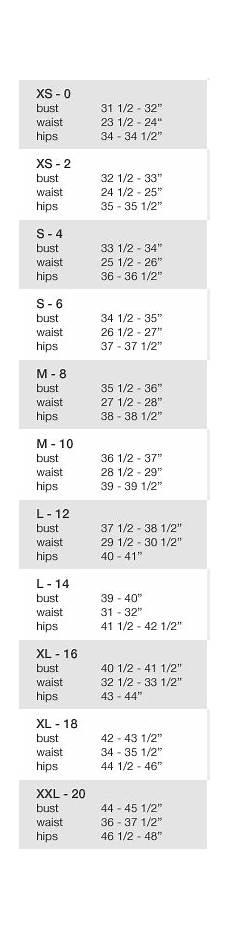 Marchesa Size Chart Pearl By Georgina Chapman Of Marchesa Dresses Size 4