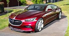 Opel Monza X 2020 by Opel Monza Four Door Coupe Would Make A Sweet Merc Cls Rival