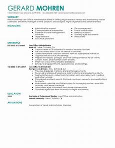 Sample Resume For Office Job Best Office Administrator Resume Example Livecareer
