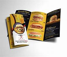 Food Brochure Templates Healthy Food Menu Brochure Trifold Brochure Templates