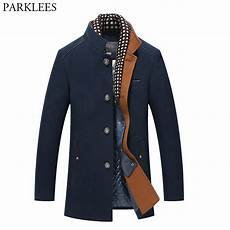 fitted winter coats for scissors aliexpress buy thicker mens trench coats 2017 winter