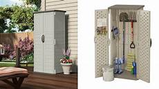 outdoor storage cabinet shed patio garden vertical