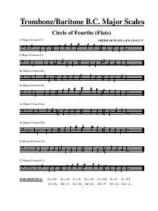 Baritone Bc Chart Scale Sheets Pdf Templates Download Fill And Print For