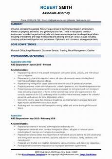 Immigration Consultant Resume Family Lawyer Resume Sample July 2020