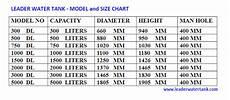 Water Storage Tank Size Chart Sintex Water Tank Price List Pdf