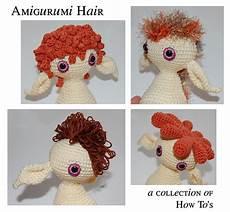 amigurumi hair mygurumi how to amigurumi hair
