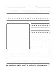 Story Starters For Kids And Blank Creative Writing Templates