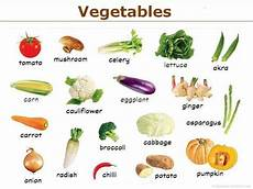 Vegetable Picture Chart Vegetables Chart Preschool And Learning Pinterest