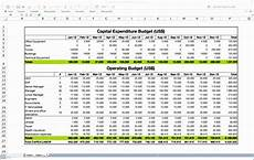 Capex Template 6 Budget Template Excel 2010 Excel Templates Excel