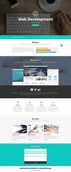 Php Site Template Web Design And Advertising Website Template 52537