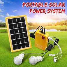 Kirloskar Solar Home Lighting System Solar Power Panel 5v Usb Charger Home System With 3 Led