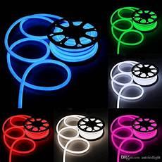 Neon Light Strips For Room 2019 100m Rope Led Lights Smd2835 120 Led 110v 120v