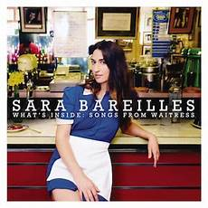 Bareilles Chart History What S Inside Songs From Waitress Wikipedia