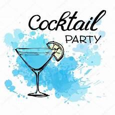 Cocktail Party Invitation Cocktail Party Invitation Poster Stock Vector 169 O Ta