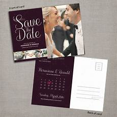 Save The Date Postcard Save The Date Calendar Postcard By Pallabip Graphicriver
