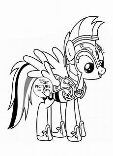 rainbow dash my pony coloring page for for