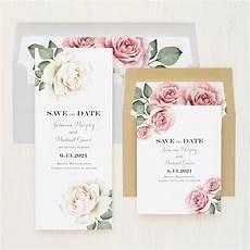 Wedding Save The Date Invitations Simple Mauve Save The Dates Beacon Lane Wedding Invitations