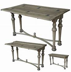 Folding Sofa Table 3d Image by Driftwood Finish Walnut And Brass Folding Console Table