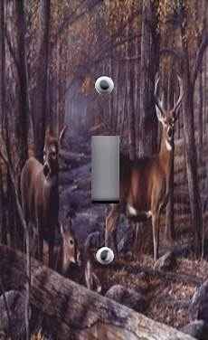 Deer Light Switch Covers Light Switch Plate Amp Outlet Covers Cabin Decor Buck Deer