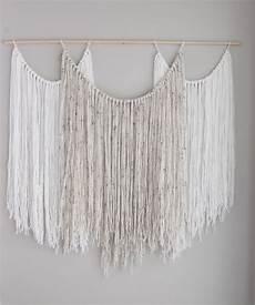 large wall hanging tapestry yarn macrame bohemian