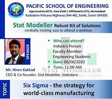Six Sigma Class Six Sigma The Strategy For World Class Manufacturing