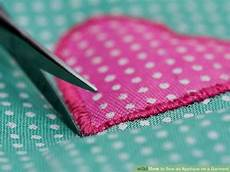 how to applique how to sew an applique on a garment 13 steps with pictures