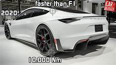 tesla by 2020 sneak preview the new tesla roadster 2020 world s