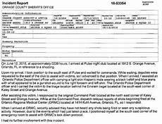 Barrow County Incident Report Orange County Sheriff Office Orlando Nightclub Shooting