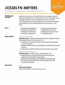 Example Administrative Assistant Resumes Best Administrative Assistant Resume Example Livecareer