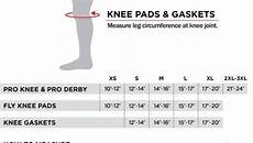 Triple 8 Knee Pads Size Chart 187 Killer Pads Size Chart Knee Skatepro