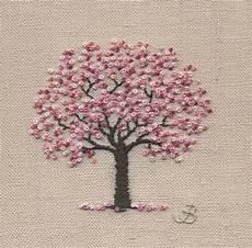 jo butcher embroidery artist cherry blossom
