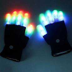 Light Up Gloves For Kids Led Gloves Luminous 5 Finger Light Gloves Laser Led Party