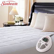 king size electric mattress pad heated quilted warm