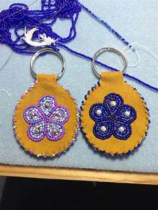 blue an purple keychains by alaska beadwork 15 00 each