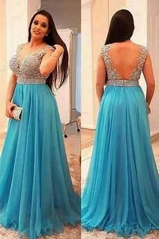 Light Blue Plus Size Formal Dress A Line Beaded Lace Appliques Long Prom Dresses Plus Size