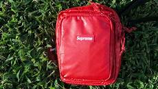 supreme bag supreme shoulder bag unboxing review legit checker how