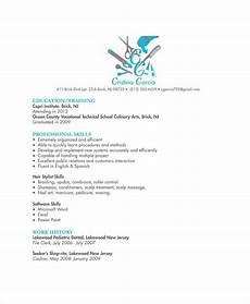 Hair Stylist Resume Templates Hair Stylist Resume Example 6 Free Pdf Psd Documents
