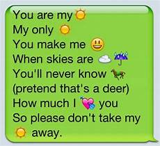 Cute Emoji Texts For Your Boyfriend Cute Love Quotes With Emojis Quotesgram