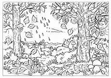Ausmalbilder Tiere Herbst Malvorlagen Herbst Bl 228 Tter Ausdrucken Kinderbilder