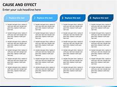 Cause And Effect Power Point Cause And Effect Diagram Powerpoint Template Sketchbubble