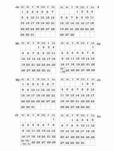 Mini Calendars To Print S Creative Journey Mini Calendar Print Outs For 2017